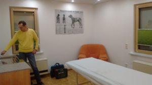 Ein Behandlungszimmer im (fast) endgültigen Loo